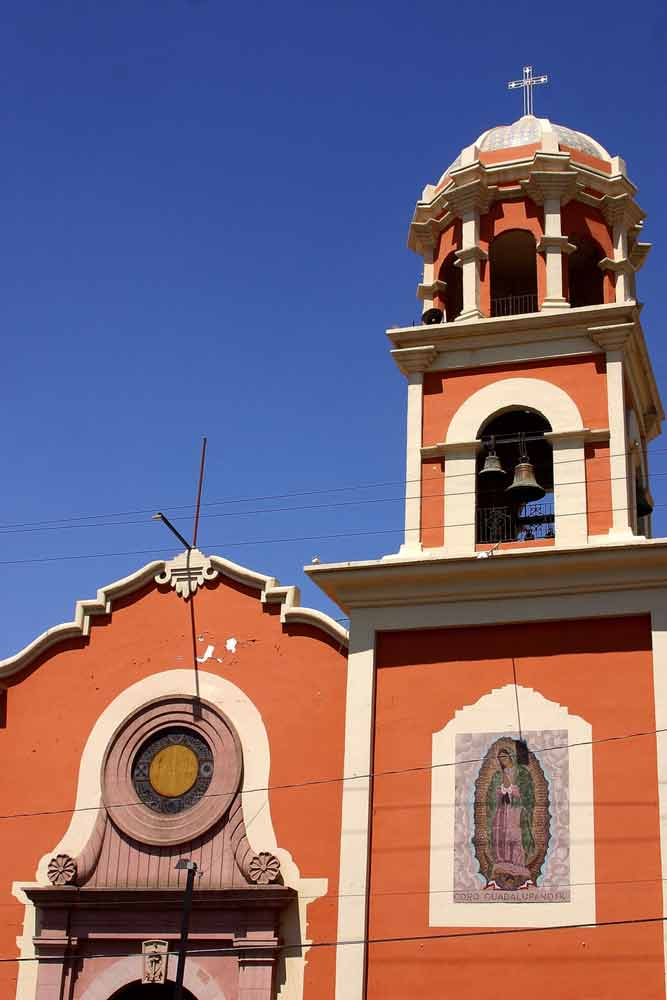 Church in Mexicali, Mexico